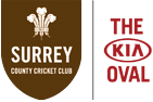 The Kia Oval Surrey County Cricket Club logo